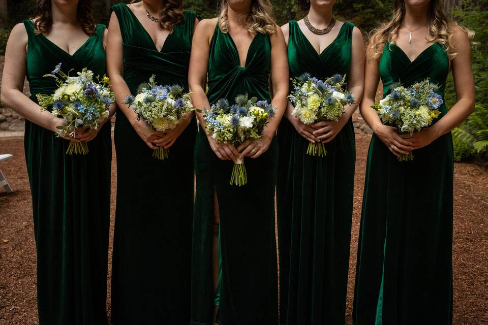 Emerald and beautiful