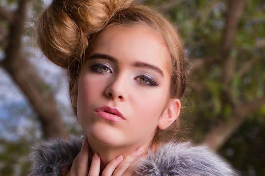 Natural and light makeup