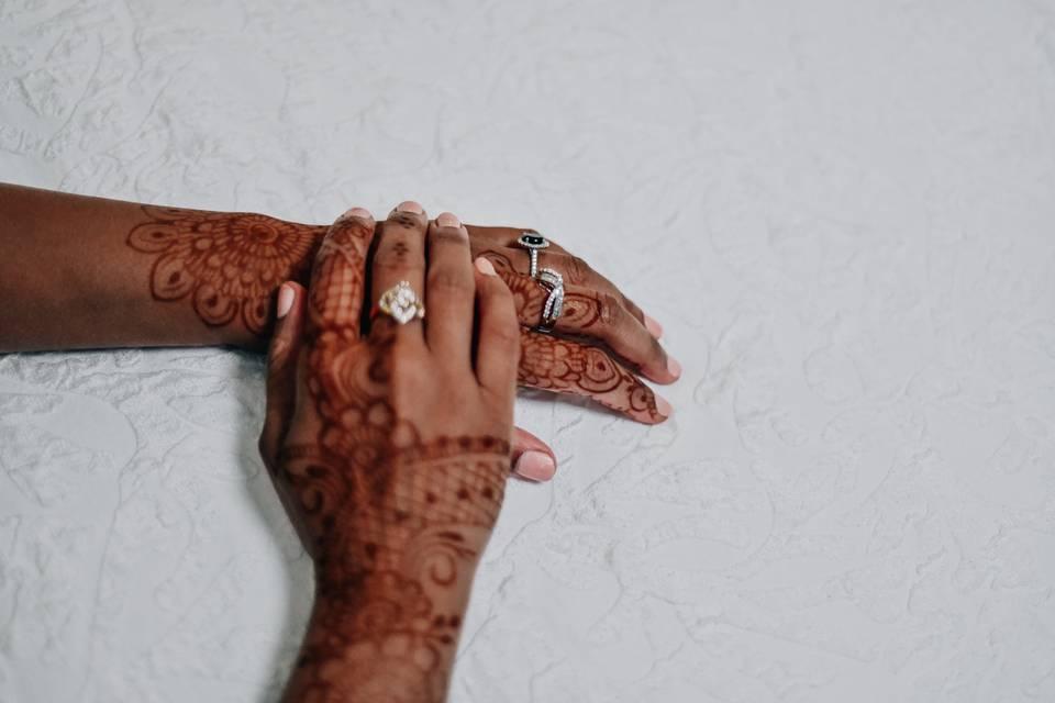Wedding Henna. Detroit Wedding