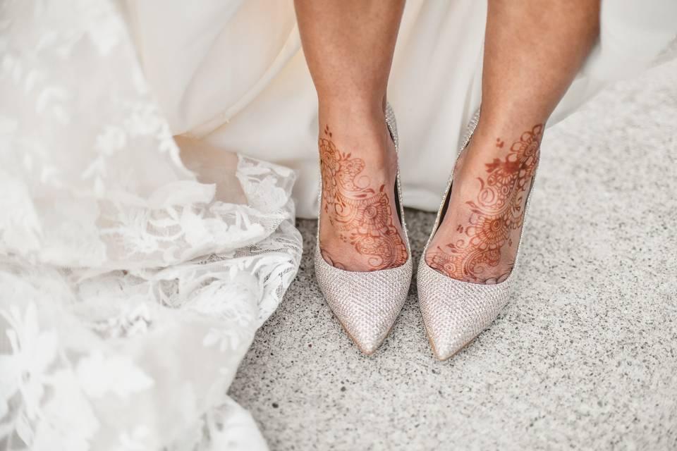 Detroit Michigan Wedding Henna
