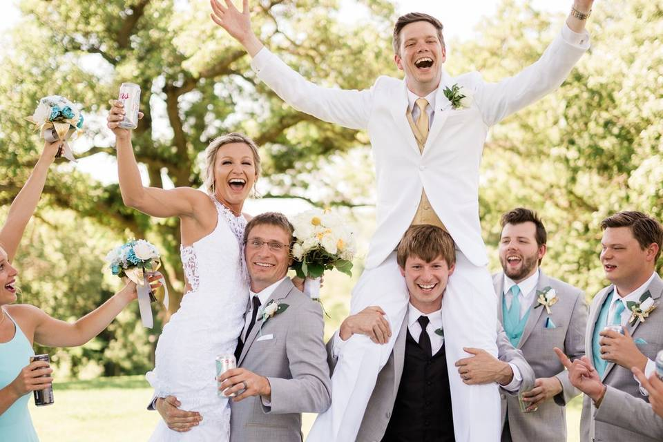 The best bridal party