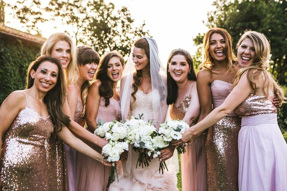 Ruslana Regi Bridal team