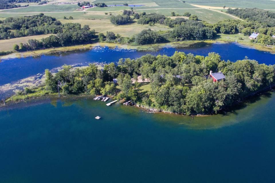 Four acre private Island