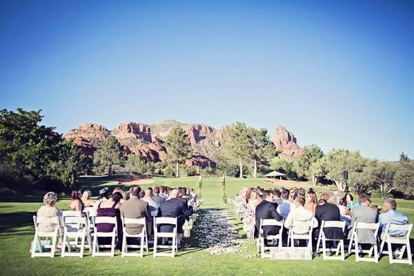 Outstanding ceremony scenery