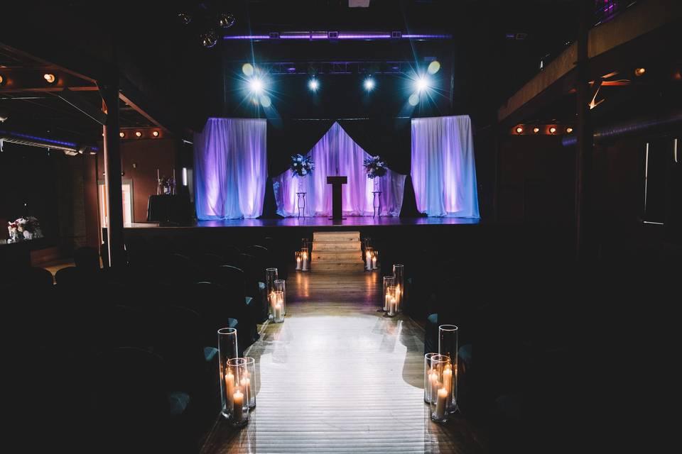 The event setup