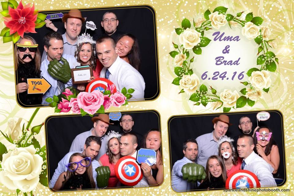 Sparkle and Shine Photo Booth