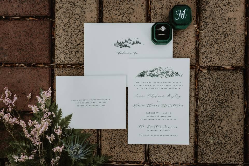 Wedding Invitation flaylay