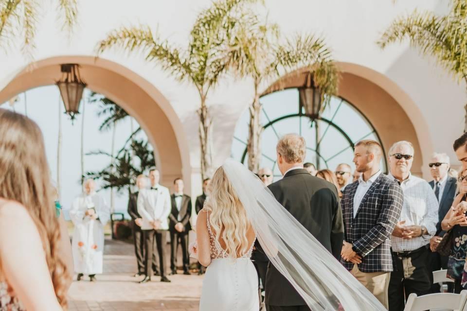 Wedding at Hilton