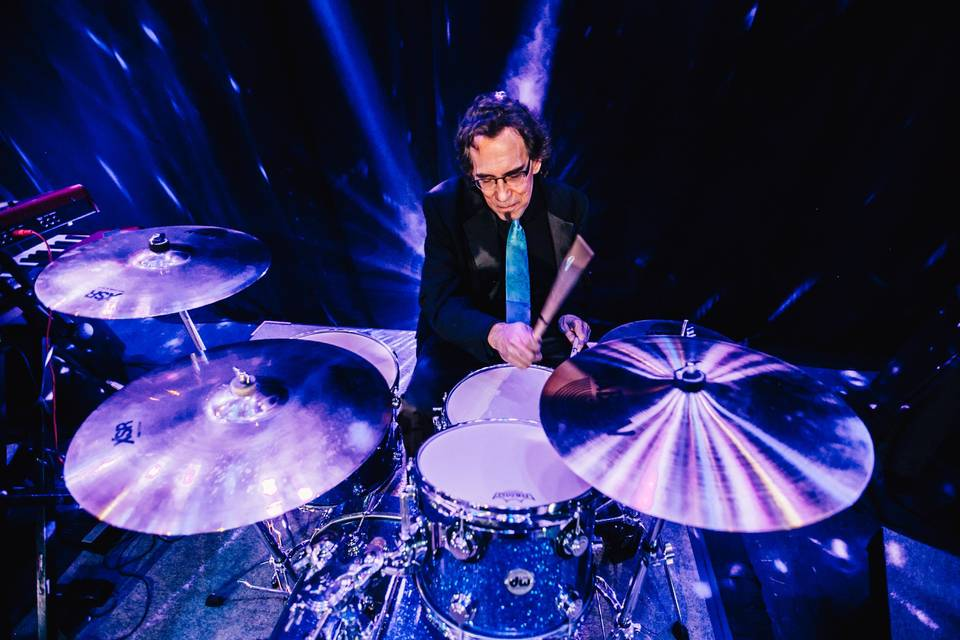 The drummer who owns the beat