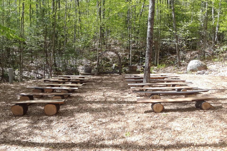 Cascades Ceremony Site