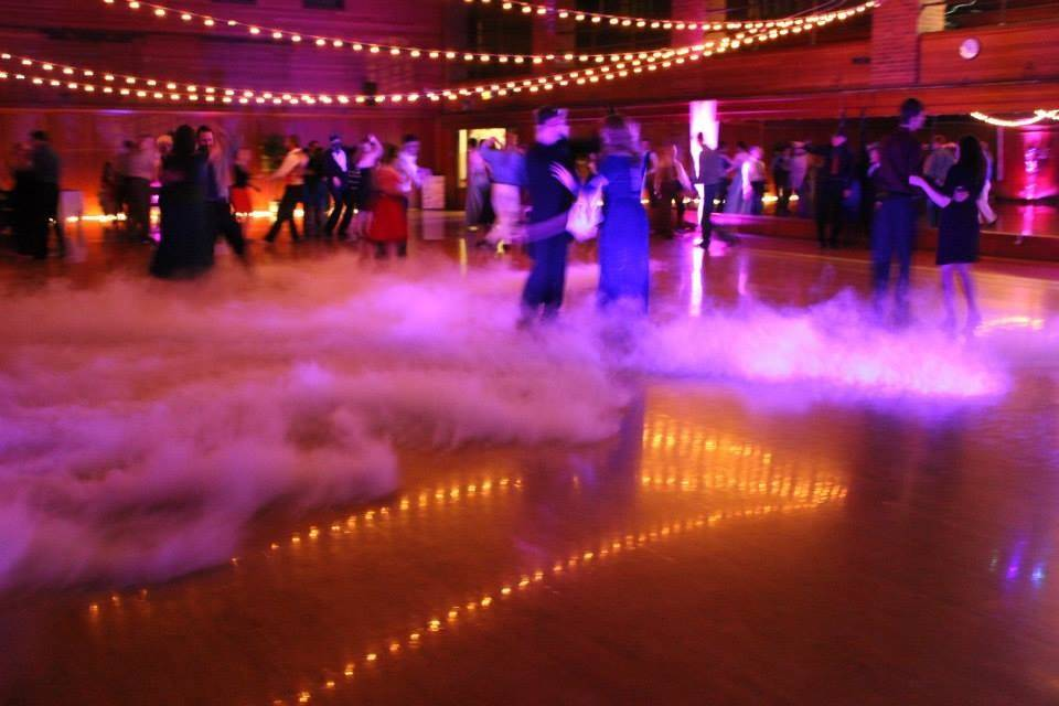 We can take a plain basketball court and turn it to an enchanted ballroom floor.
