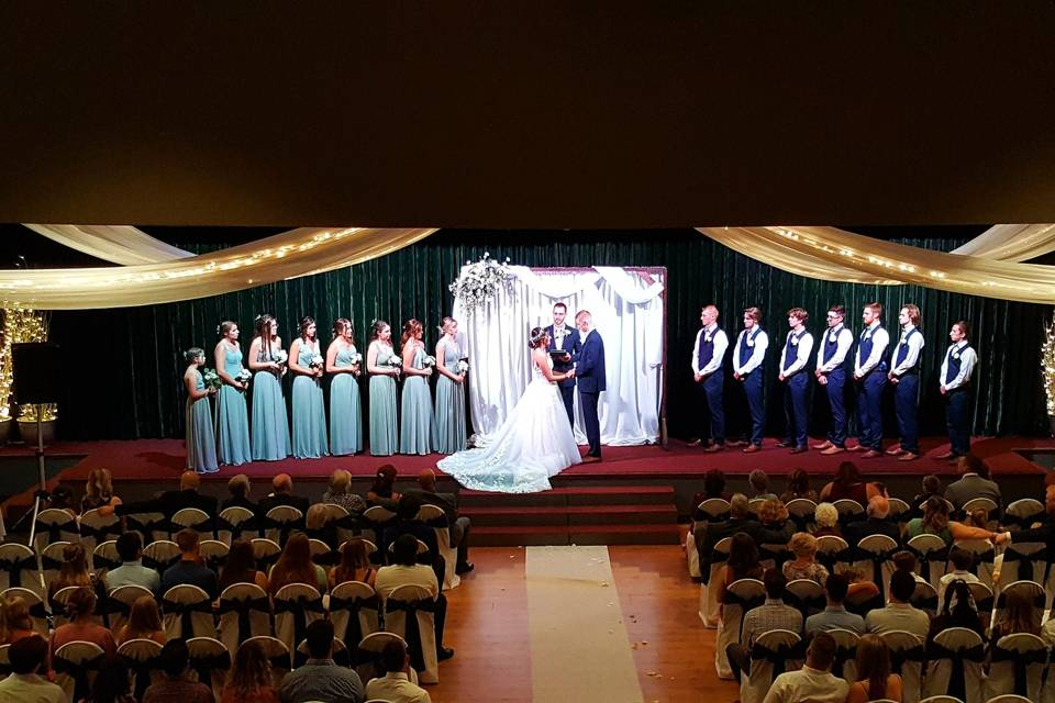 Ceremony in the Emerald Room
