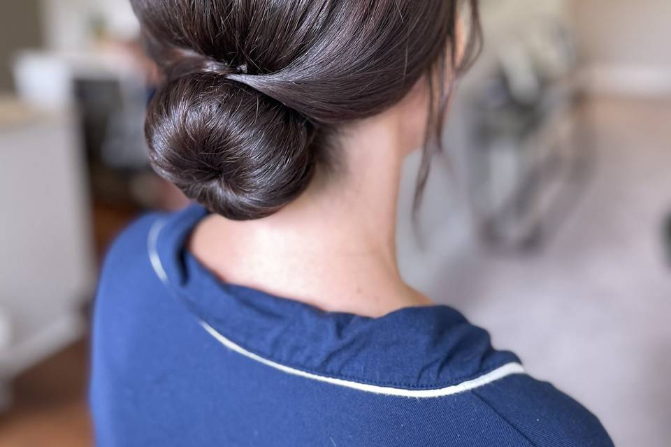 Bridesmaid Hair by Jeanette