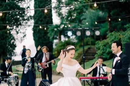 Fairy tale wedding at Lake Com