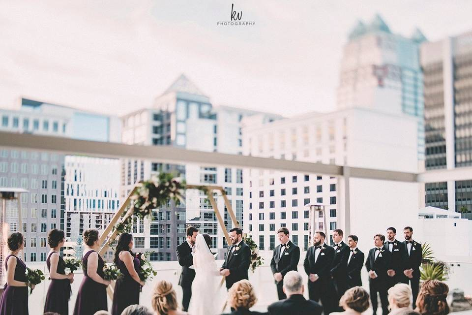 Rooftop Ceremony Vibes
