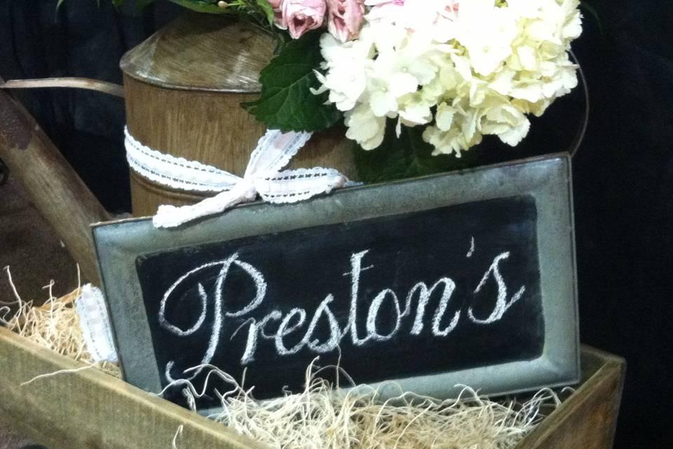 Preston's Stationery, Inc.