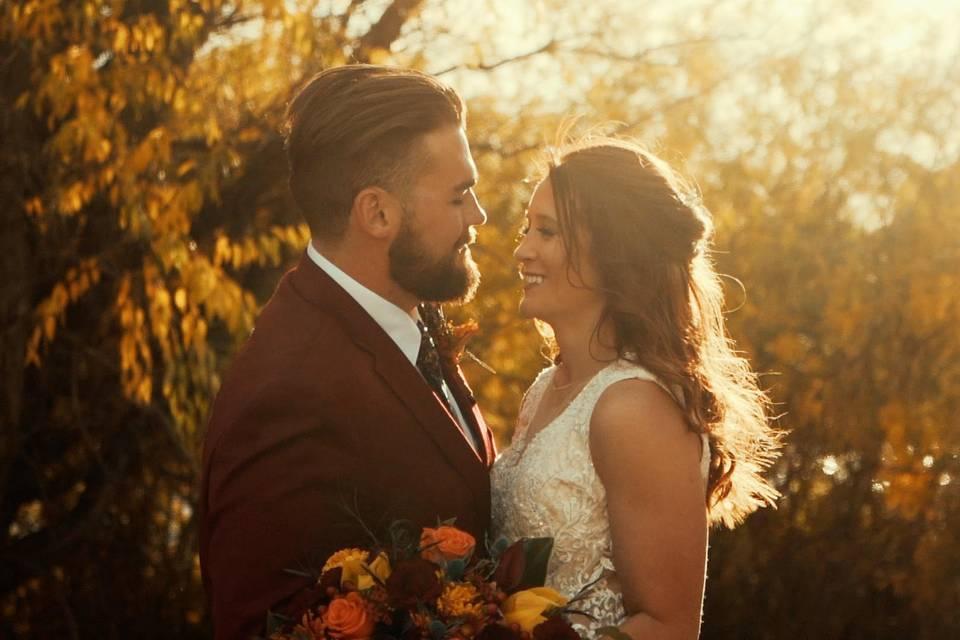 Breathtaking Fall Wedding