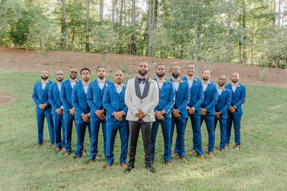 Johnathan & groomsmen