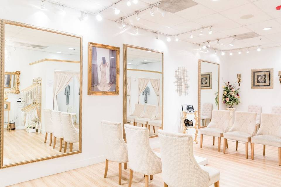 Wedding Dresses Fitting Rooms