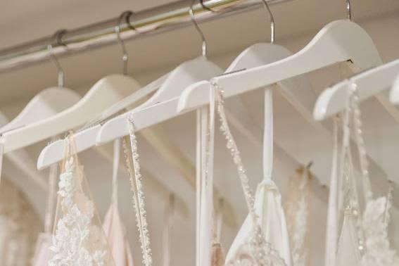 Hundreds of Wedding Dresses