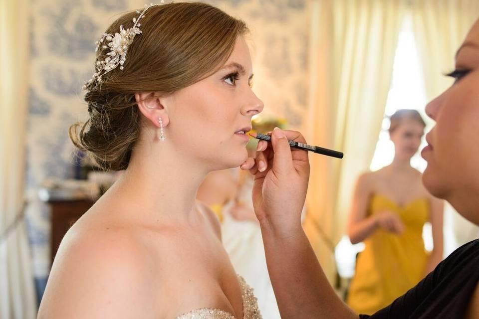 DC's Bridal Hair Makeup and Spa Party