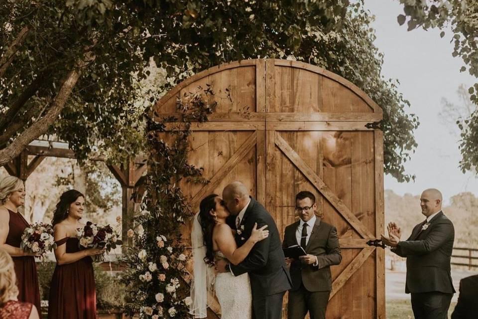 Barn Door - Wedding