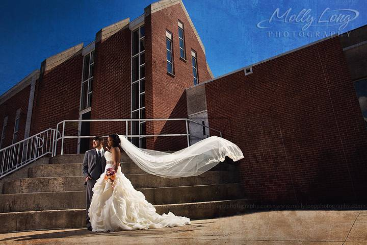 The happy couple - Molly Long photography