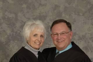 Justices Arthur and Arlene Tatro