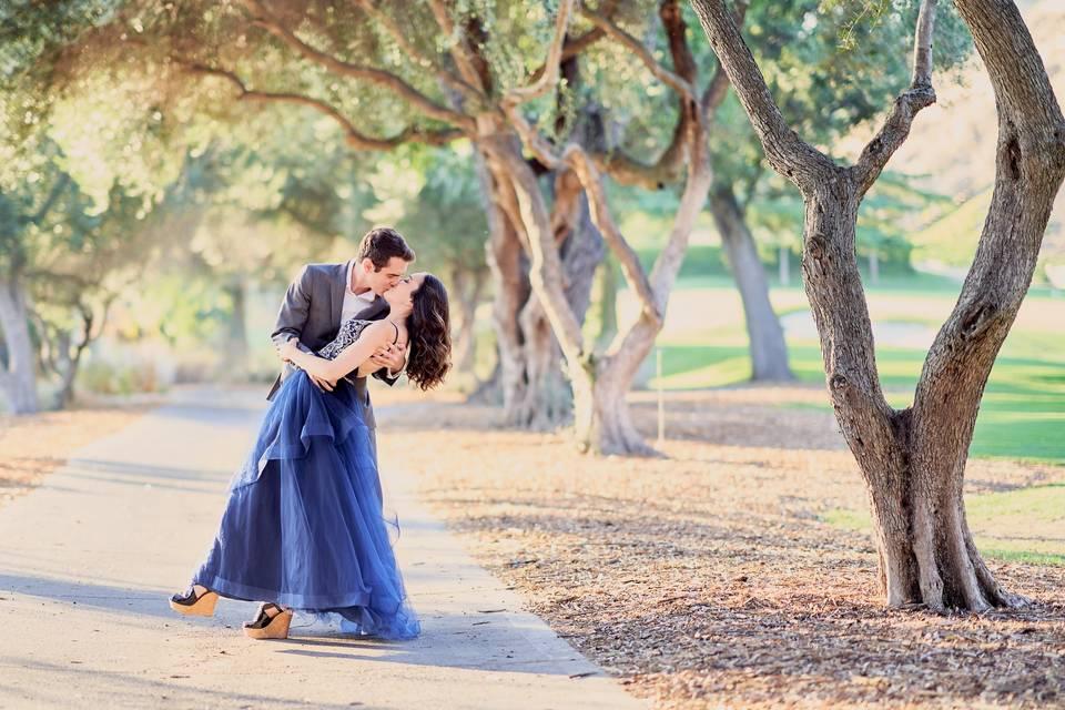 Lovely couple   SJCC Engagement Photo