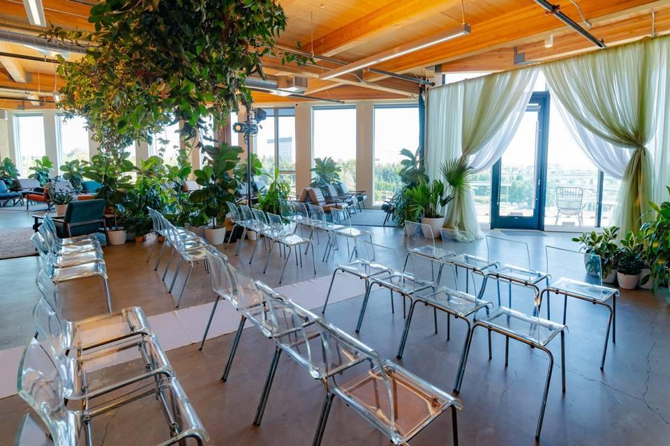 Skyrise floor 6 ceremony