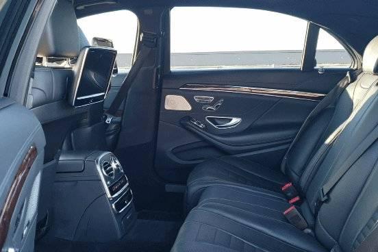 Mercedes-Benz S550  interior