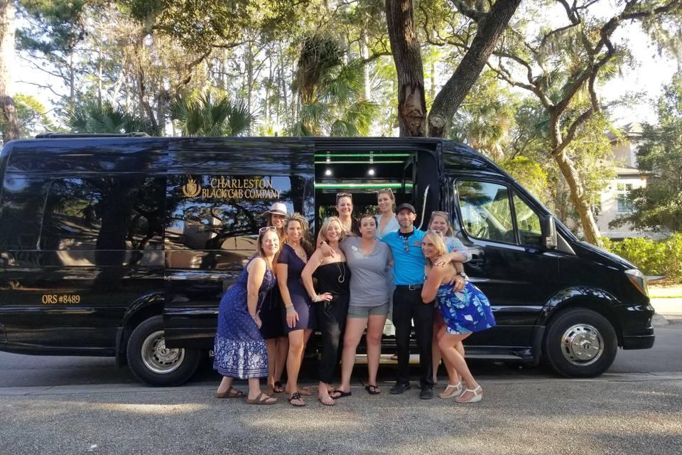 Mercedes-Benz Limo Party Bus