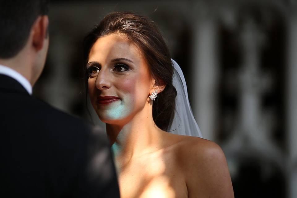 Bride's Vows during Ceremony