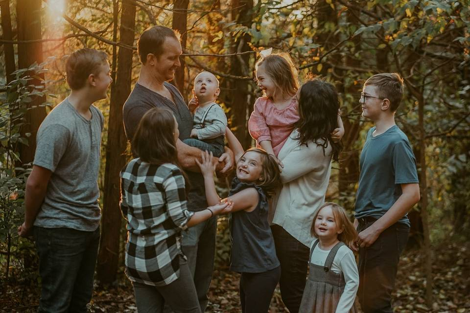 Family photo shoot - Chantel Media