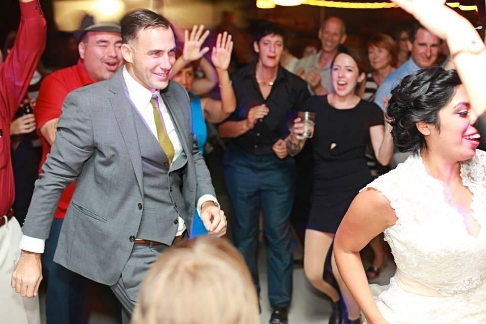 Brendan and Amanda's wedding was so awesome