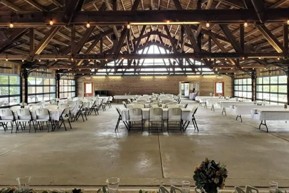 Interior reception space