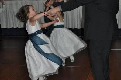 Kids on the dance floor