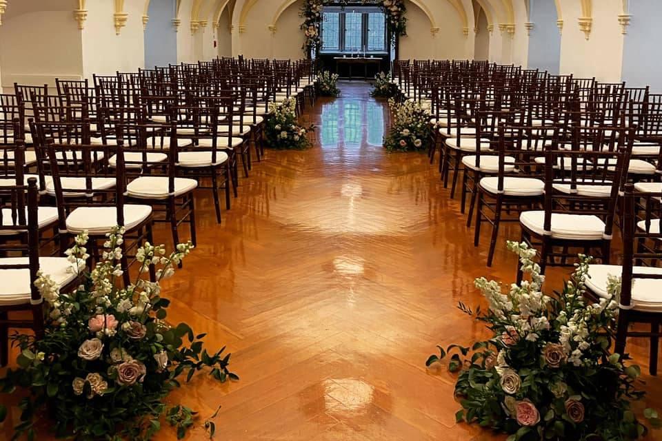 Ceremony event space