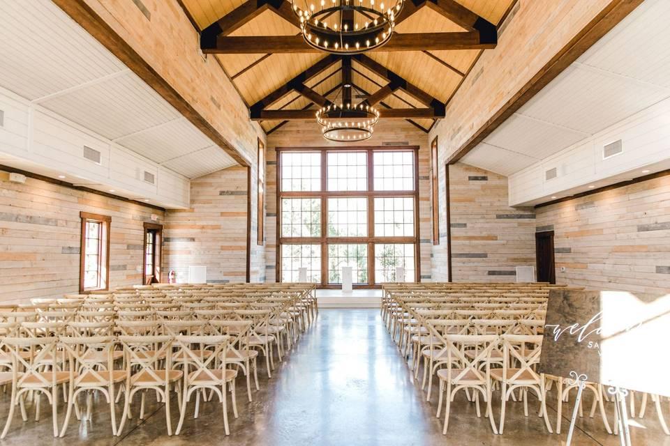 Morgan Creek Barn by Walters Wedding Estates