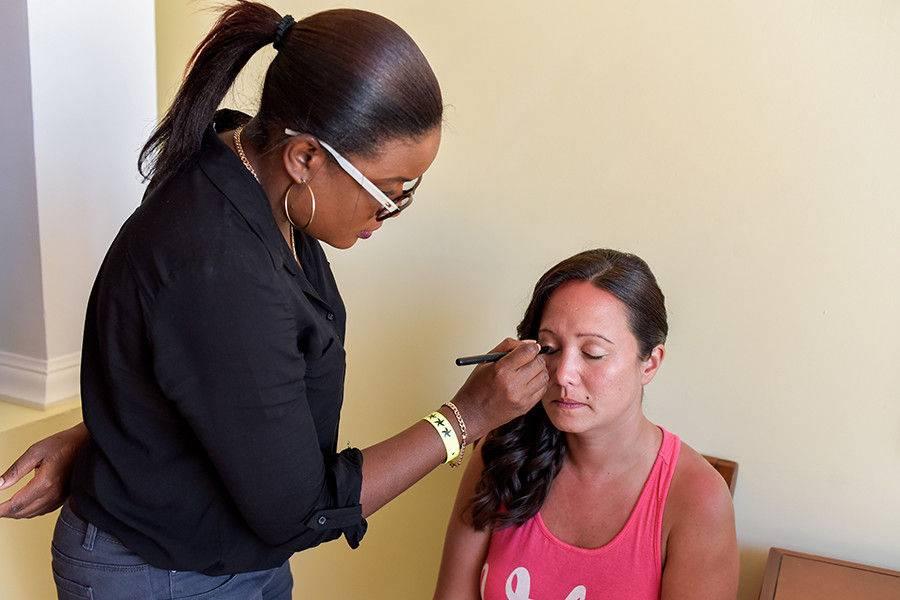 Jamaican Wedding Hairstyles & Makeup Artist