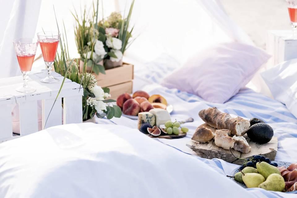 Luxury picnics