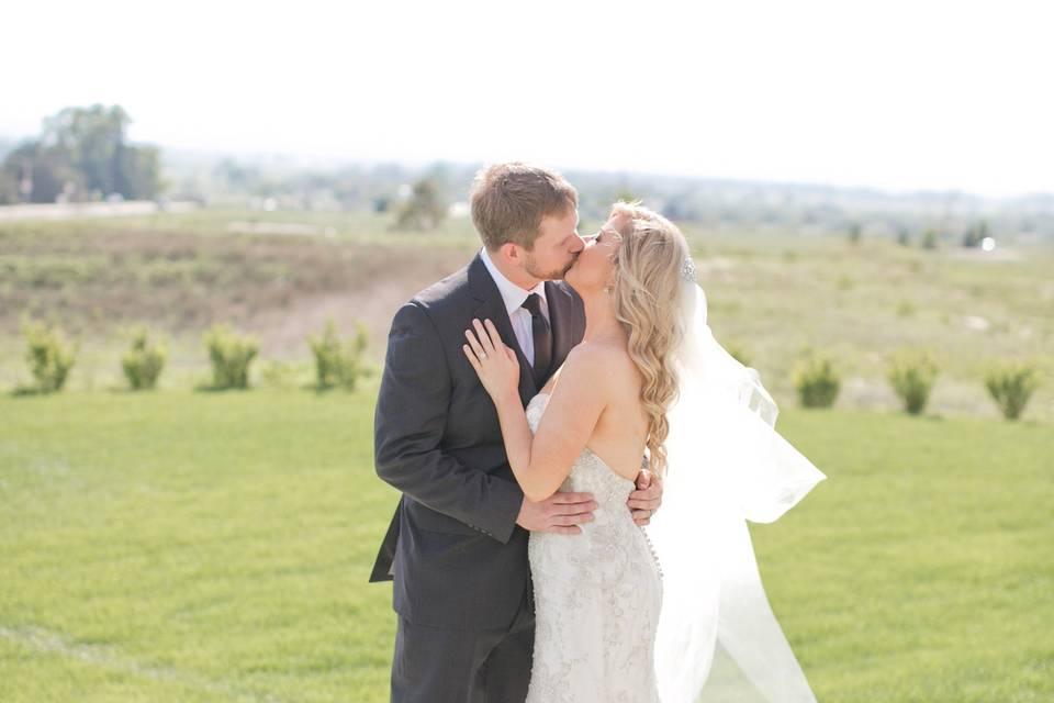 Janine & Thomas June 2015 Wedding at Windsong Estate Event Cennter, Fort Collins, CO - KB Digital Designs