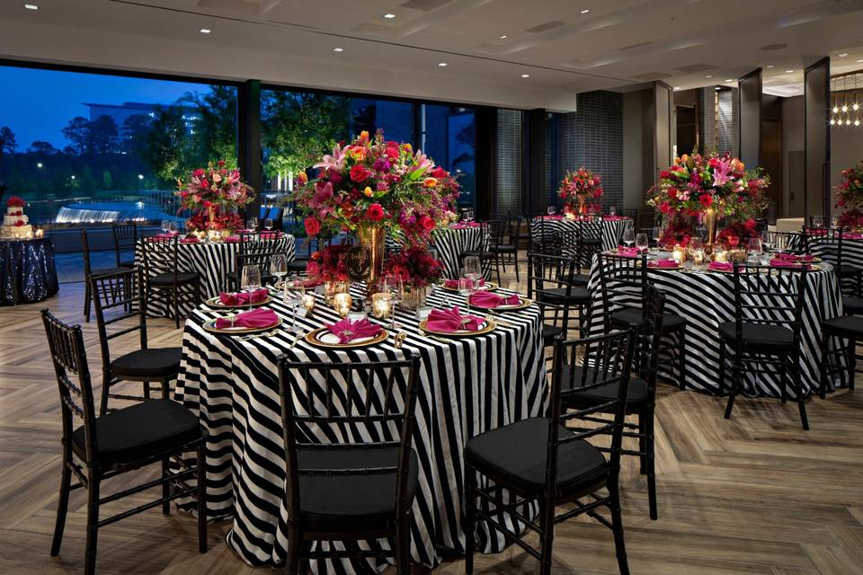 Round table reception