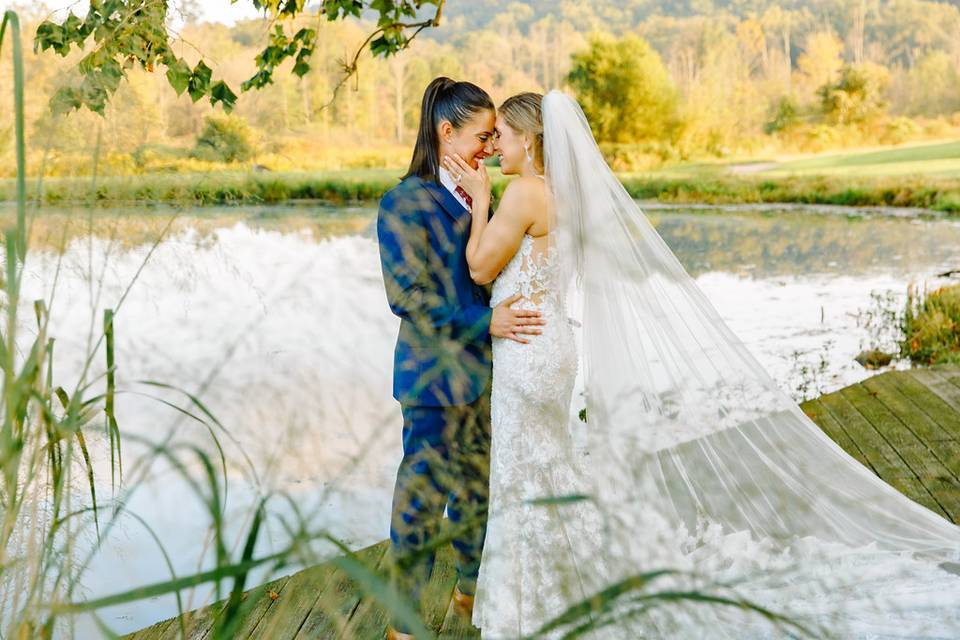 A special moment by the water