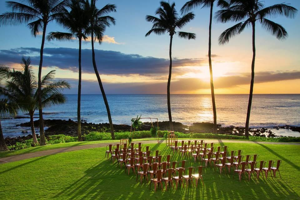 Ocean Lawn - Ceremony