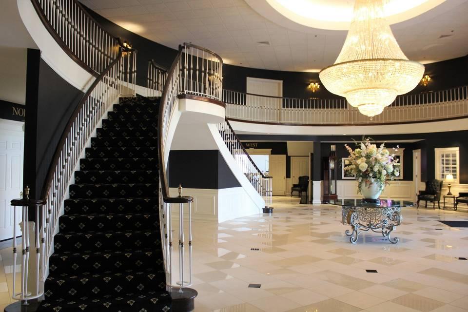 Gorgeous lobby.