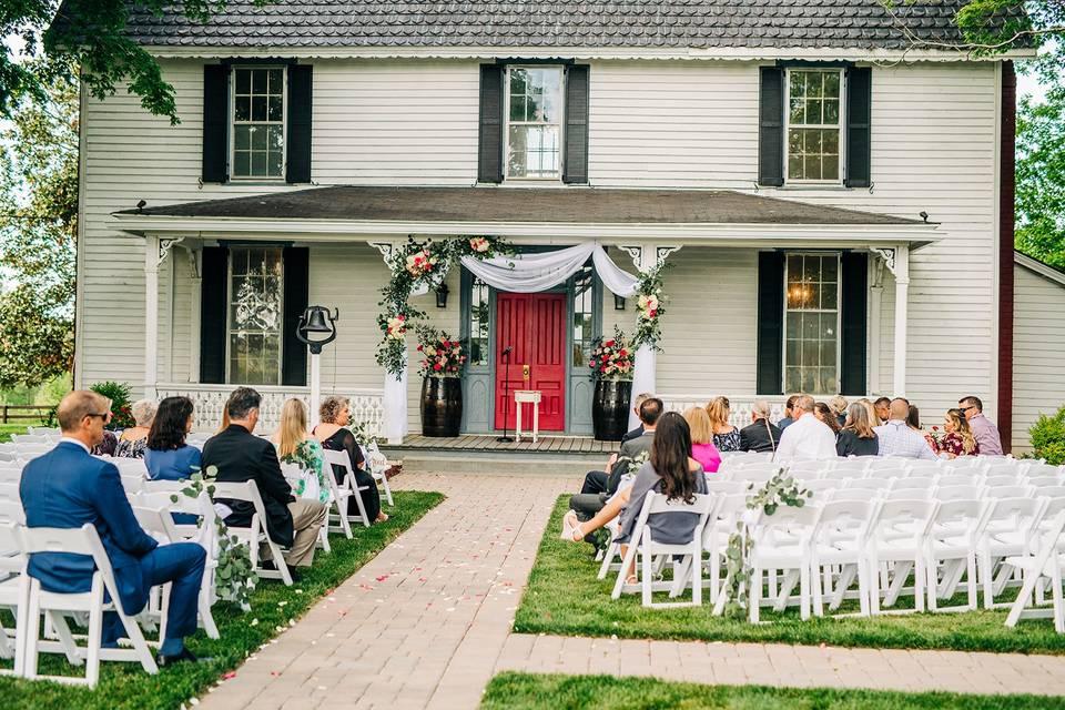 Wedding day - Ceremony - May