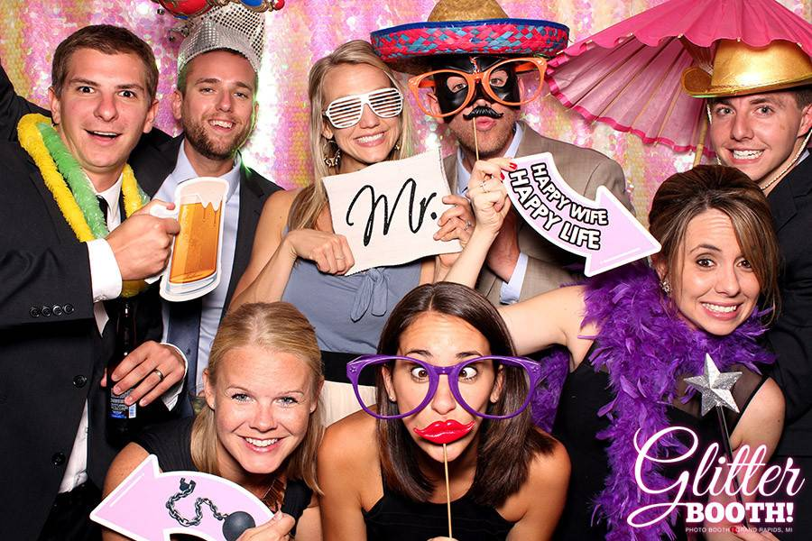 Glitter Booth Photo Booth