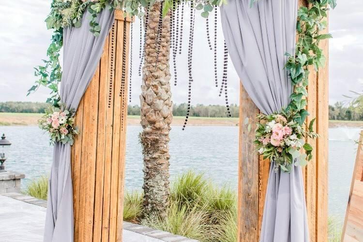 Fresh floral arbor designs