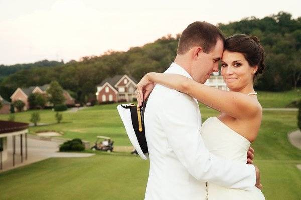 Groom and bride | Photo by Shannon Brasel Photography